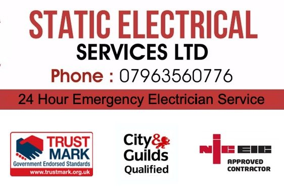 electrician services mobile banner st albans